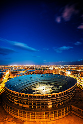 Nou Mestalla Stadium.<br /> València, Comunitat Valenciana.<br /> València C.F. wanted a new stadium that would give the club a place among the world's greatest. The cost of €344 million would be financed by the residential developments to be built on the site of the current stadium. However, the crash of the property market obliterated the operation, and the construction was stopped in 2009. In order to finish the stadium, €100 more million are needed, but the club has not the money for it. The club is currently being investigated by the European Union over alledged irregular public funding.