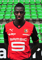Tiemoue BAKAYOKO - 19.09.2013 - Photo officielle - Rennes - Ligue 1<br /> Photo : Philippe Le Brech / Icon Sport
