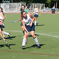6 SEP 2010 -- FENTON, Mo. -- Marquette High School  field hockey player, Sydney Aaronson (35) passes down field against Nerinx Hall Academy Green during the Gateway Field Hockey Labor Day Tournament at the A-B Center in Fenton, Mo., Monday Sept. 6, 2010.  The match ended tied 2-2.