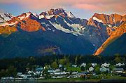 Alaska, Haines, Sunrise