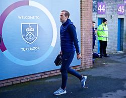 BURNLEY, ENGLAND - Saturday, February 23, 2019: Tottenham Hotspur's Harry Kane arrives before the FA Premier League match between Burnley FC and Tottenham Hotspur FC at Turf Moor. (Pic by David Rawcliffe/Propaganda)