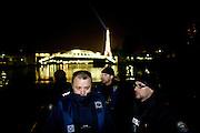 Paris, France. 29 Avril 2009..Brigade Fluviale de Paris...Paris, France. April 29th 2009..Paris fluvial squad..