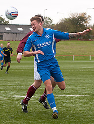 Pictured:  Shaun Woodburn in action in times 2013<br /> Former Bonnyrigg Rose player Shaun Woodburn was taken to the ERI in a critical condition following a disturbance in Great Junction Street, Leith, at around 2am. . Police confirmed at 10.45pm that a 30-year-old had died and the death is being treated as murder.<br /> Russel Hutcheson | EEm 1 January 2017