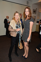 Left to right, ANNABEL BRENNAN and JESSICA ROBERTS at the UK Premiere of The Uncondemned hosted by Women for Women International at BAFTA, 195 Piccadilly, London on 2nd November 2016.