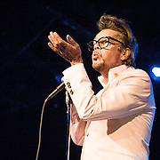 Buster Poindexter performing at Birchmere in VA on August 8, 2014.