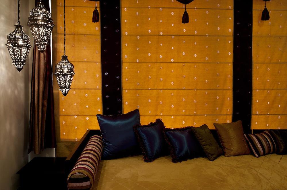 Interiors of room Marrakesh at Villa Monticello, Accra, Ghana
