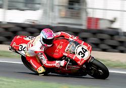 STEVE HISLOP ENG RED BULL DUCATI, World Superbike Championship Donington Park  4th May 1997WORLD SUPERBIKE DONN 4/5/1997