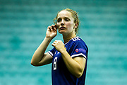 Kim Little (#8) of Scotland following the Women's Euro Qualifiers match between Scotland Women and Cyprus Women at Easter Road, Edinburgh, Scotland on 30 August 2019.