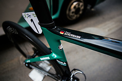 Bike of Pascal Ackermann (GER) of Bora Hansgrohe at 1st Stage of 26th Tour of Slovenia 2019 cycling race between Ljubljana and Rogaska Slatina (171 km), on June 19, 2019 in  Slovenia. Photo by Vid Ponikvar / Sportida