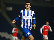 Brighton striker Jack Harper during the Barclays U21 Premier League match between Brighton U21 and Arsenal U21 at the American Express Community Stadium, Brighton and Hove, England on 30 November 2015. Photo by Bennett Dean.