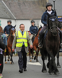 Paddy Joe Foy Westport Horse and Pony Show at the parade on sunday.<br /> Pic Conor McKeown