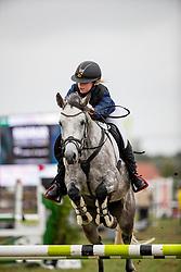 Van Dijck Marie, BEL, Ronny<br /> Nationaal Tornooi LRV Ponies<br /> Zonnebeke 2019<br /> © Hippo Foto - Dirk Caremans<br />  29/09/2019