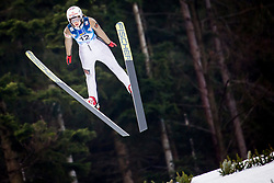 Alexandra Kustova (RUS) during 1st Round at Day 1 of FIS Ski Jumping World Cup Ladies Ljubno 2018, on January 27, 2018 in Ljubno ob Savinji, Ljubno ob Savinji, Slovenia. Photo by Ziga Zupan / Sportida