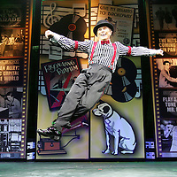 Crystal Chatham/The Desert Sun<br /><br />10/27/2007 -- Cast member Leonard Crofoot dances on stage during rehearsal Saturday, October 27 for The Fabulous Palm Springs Follies presentation of Tin Pan Alley. The show kicks off Tuesday, October 30 in Palm Springs.