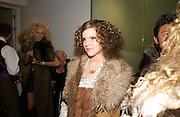 Kate Sumner daughter of singer Sting, Chester Bonham couture fashion show. Park Lane. 15 November 2004. ONE TIME USE ONLY - DO NOT ARCHIVE  © Copyright Photograph by Dafydd Jones 66 Stockwell Park Rd. London SW9 0DA Tel 020 7733 0108 www.dafjones.com