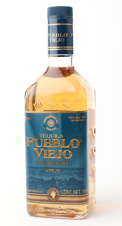 Pueblo Viejo anejo -- Image originally appeared in the Tequila Matchmaker: http://tequilamatchmaker.com