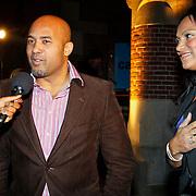 NLD/Amsterdam/20101115 - Life after Football lifestyle Fair 2010, Dean en Magali Gorrè