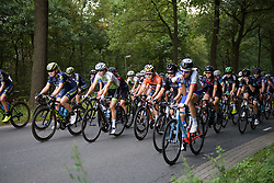 Amy Pieters at the front of the bunch at Boels Rental Ladies Tour Stage 4 a 121.4 km road race from Gennep to Weert, Netherlands on September 1, 2017. (Photo by Sean Robinson/Velofocus)