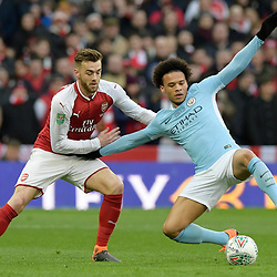 25,02,2018 Carabao Cup Final Arsenal and Manchester City