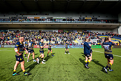 celebrates beating Gloucester Rugby and securing Premiership Rugby status - Mandatory by-line: Robbie Stephenson/JMP - 28/04/2019 - RUGBY - Sixways Stadium - Worcester, England - Worcester Warriors v Gloucester Rugby - Gallagher Premiership Rugby