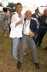 "SIR STIRLING & LADY MOSS at the Goodwood Festival of Speed on 9th July 2006.  Cartier sponsored the ""Style Et Luxe' for vintage cars on the final day of this annual event at Goodwood House, West Sussex and hosted a lunch.<br />