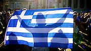 Jeremy Corbyn Owen Jones Dianne Abbott Caroline Lucas speak at the Greece Solidarity Campaign Rally in Trafalgar Square London, Great Britain 29th June 2015 <br /> <br /> Greece Solidarity Campaign Rally<br /> <br /> <br /> Photograph by Elliott Franks <br /> Image licensed to Elliott Franks Photography Services