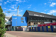 General view outside the Portman Road stadium ahead of the EFL Sky Bet League 1 match between Ipswich Town and AFC Wimbledon at Portman Road, Ipswich, England on 20 August 2019.