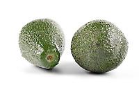 Avocado on white background - studio soht