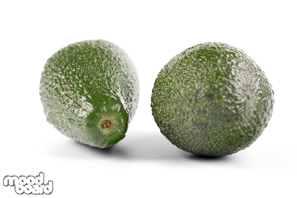 Avocado on white background - studio soht