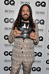 ALESSANDRO MICHELE at the GQ Men of The Year Awards 2016 in association with Hugo Boss held at Tate Modern, London on 6th September 2016.