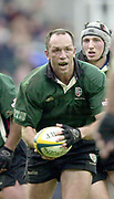 Photo - Peter Spurrier.25/01/03.Powergen Cup Quarter Final London Irish v Rotherham.Brendan Venter..