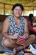 In the Amazon, plastic bags are plentiful and easy to aquire but not so easy to get rid of. The principle behind eco-plarn is simple: cut plastic bags into strips plastic &quot;yarn&quot;, resulting in plarn that is then used to crochet.<br /> Over a series of workshops, women from a number of indigenous communities have quickly embraced the concept and are creating exciting new designs of bags.
