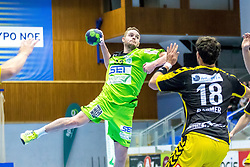 10.12.2017, BSFZ Suedstadt, Maria Enzersdorf, AUT, HLA, SG INSIGNIS Handball WESTWIEN vs Bregenz Handball, Hauptrunde, 16. Runde, im Bild Olafur Bjarki Ragnarsson (SG INSIGNIS Handball WESTWIEN) // during Handball League Austria 16 th round match between SG INSIGNIS Handball WESTWIEN and Bregenz Handball at the BSFZ Suedstadt, Maria Enzersdorf, Austria on 2017/12/10, EXPA Pictures © 2017, PhotoCredit: EXPA/ Sebastian Pucher