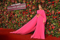 © Licensed to London News Pictures. 18/11/2018. London, UK. Susie Abromeit attends the 64th Evening Standard Theatre Awards held at the Theatre Royal, Dury Lane. Photo credit: Ray Tang/LNP