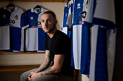 New signing, Adam Dawson - Photo mandatory by-line: Joe Meredith/JMP - Mobile: 07966 386802 - 12/01/2015 - SPORT - football - Bristol - Bristol Rovers Training Ground - Vanarama Conference