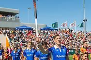 Eindhoven - Oranje Rood - Kampong  Heren, Hoofdklasse Hockey Heren, Seizoen 2017-2018, 05-05-2018, Halve Finale Playoffs, Oranje Rood - Kampong 1-1, Kampong wns, Philip Meulenbroek (Kampong)<br /> <br /> (c) Willem Vernes Fotografie