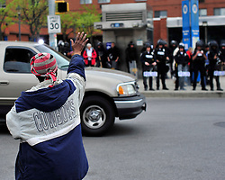 Protestors rally in reaction to the announcement of homicide charges towards police officers in connection with the April 12th death of Freddie Gray on May 1, 2015, in Baltimore, Md. (Chris Post   lehighvalleylive.com)