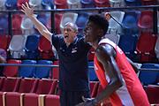Ettore Messina<br /> Nazionale Italiana Maschile Senior<br /> Eurobasket 2017<br /> Allenamento<br /> FIP 2017<br /> Telaviv, 30/08/2017<br /> Foto Ciamillo - Castoria/ M.Longo