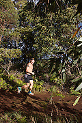 running,trail,Hawaii,photo.