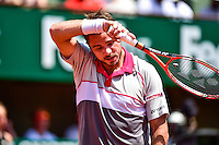 Deception Stanislas WAWRINKA - 05.06.2015 - Jour 13 - Roland Garros 2015<br />