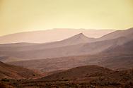Landscape of the Negev Desert