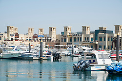 Fishing Harbour and new shopping Souk at Umm Suqueim 2 in Dubai United Arab Emirates
