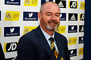 Steve Clarke Arrives at the National Stadium, Hampden Park to meet the press following his appointment  as the Scotland National Team head coach, manager at Hampden Park, Glasgow, United Kingdom on 21 May 2019.
