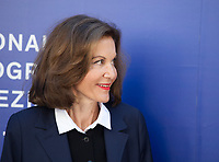 Anne Fontaine at the premiere of the film Marvin at the 74th Venice Film Festival, Sala Darsena on Sunday 3 September 2017, Venice Lido, Italy.
