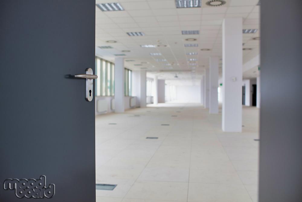 Photo of new empty office interior