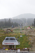 The chairlift to Blackcomb Mountain.