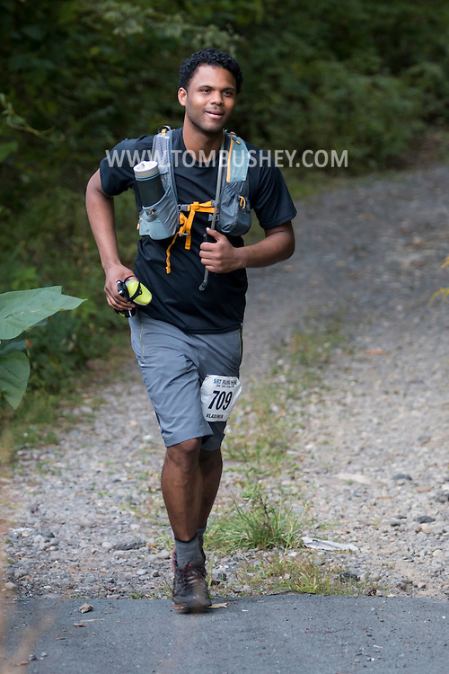 Ellenville - Scenes from the Shawangunk Ridge Trail Run/Hike on Sept. 17, 2016.