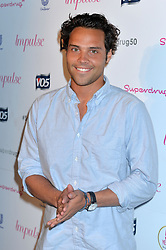 Image ©Licensed to i-Images Picture Agency. 10/06/2014.<br /> <br /> Pictured is Andy Jordan arriving at the party.<br /> <br /> Superdrug 50th Anniversary Party at The Bankside Vaults, Southbank, London, UK.<br /> <br /> Tuesday 10th of June 2014<br /> Picture by Ben Stevens / i-Images