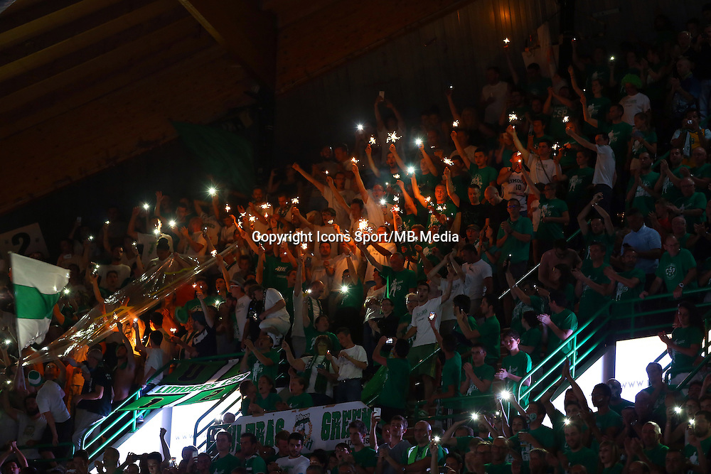 Supporters Limoges - 20.06.2015 - Limoges / Strasbourg - Finale Pro A<br /> Photo : Manuel Blondeau / Icon Sport