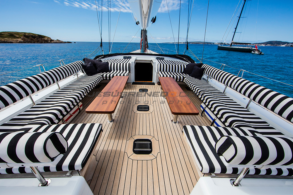 Photo Shooting for Nautor´s Swan Brokerage, Swan 100 S Aquarius Alfa , © Jesus Renedo